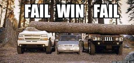 fail cars